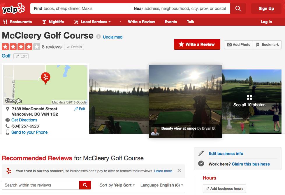 golf marketing reviews