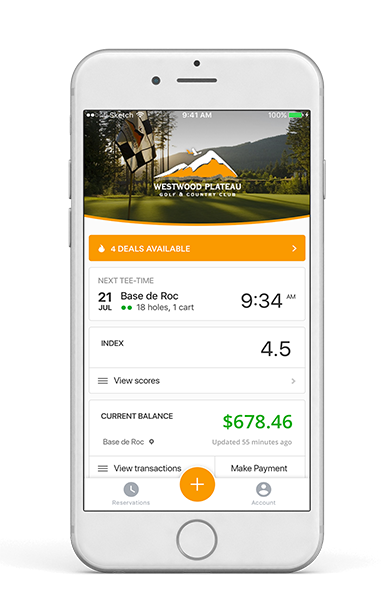 millennial golfer mobile app