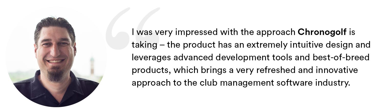Matthew Welliver joins Chronogolf as VP of Corporate Development