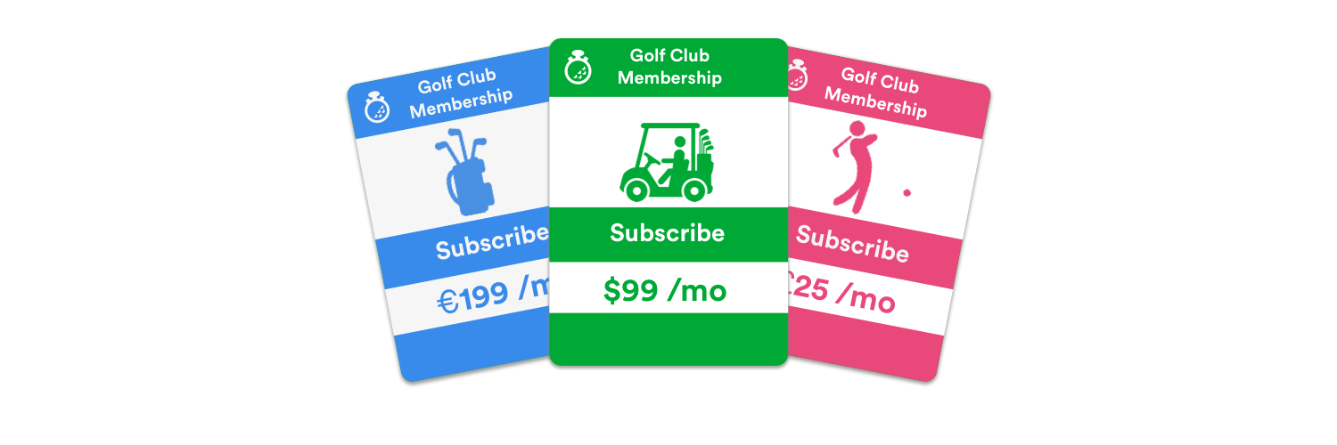chronogolf integrates with stripe to manage subscriptions and payments for online payment processing