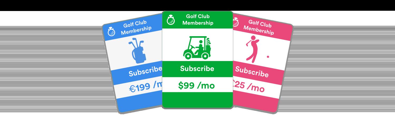 golf credit card processing