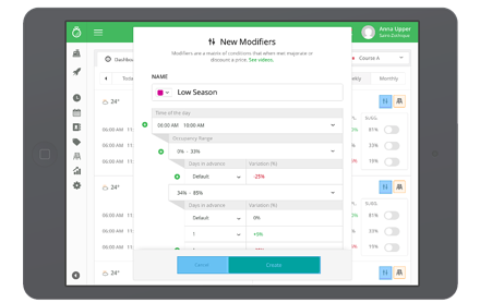 golf course booking system